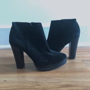 BCBG ankle booties